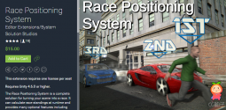 Race Positioning System 2.1 unity3d asset unity编辑器 ios开发