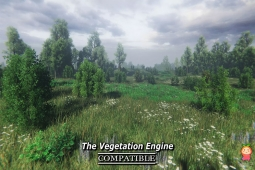 Nature Package - Swamp,Forest Environment 1.0植被森林自然环境场景
