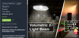 Volumetric Light Beam 1.63 体积光照明插件
