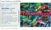 Tower Defense and MOBA unity3d asset U3D插件下载