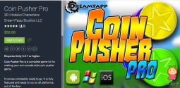 Coin Pusher Pro 1.17.0 unity3d asset Unitypackage插件模型 Unity教程