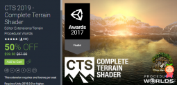 CTS 2019 - Complete Terrain Shader 2019.1.3 完整地形明暗器