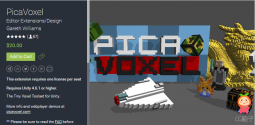 PicaVoxel 1.4.9 unity3d asset unity编辑器下载 unity3d shader下载