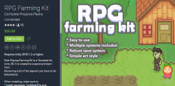RPG Farming Kit 1.01 角色扮演游戏模板
