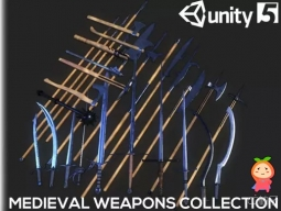 Medieval Weapons Collection 1.0 中世纪武器模型剑长柄钝斧头