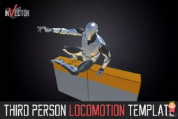 Third Person Controller - Basic Locomotion Template 2.5.3