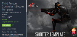 Third Person Controller - Shooter Template 1.3.2 第三人称射击模板