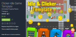 Clicker-Idle Game Template 2.4 休闲益智游戏模板