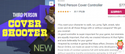Third Person Cover Controller 1.4 unity3d asset Unity插件论坛 Unity教程