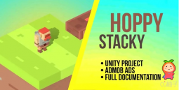 Hoppy Stacky - Unity Project with Admob 无止境游戏项目