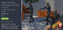 Mars' Modular Multiplayer Photon FPS Kit Update #6 FPS套件
