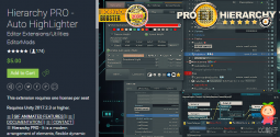 Hierarchy PRO +Presets And Selections v20.6 编辑器工具