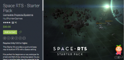 Space RTS - Starter Pack 1.2.3 unity3d asset unity教程 iOS开发