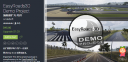 EasyRoads3D Demo Project 1.1 unity3d asset unity编辑器下载