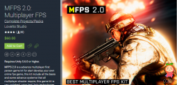 MFPS 2.0:Multiplayer FPS 1.4.5 And Lastest Addon 多人第一人称游戏