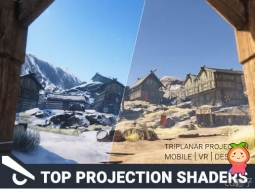 Top Projection Shaders Pack 1.0 顶部投影着色器