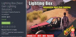 Lighting Box (Next-Gen Lighting Solution) 2.5 unity3d asset U3D插件