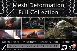 Mesh Deformation Full Collection 14.0完整的网格变形插件