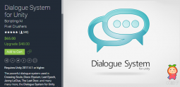 Dialogue System for Unity 2.2.1 强大的对话系统