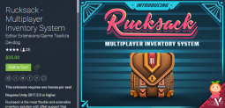 Rucksack - Multiplayer Inventory System 1.1.2 在线多人游戏