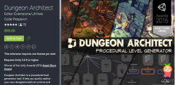 Dungeon Architect 1.6.0 unity3d asset Unity编辑器 unity插件论坛