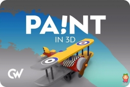 Paint in 3D 1.9.14模型喷绘涂鸦贴花图绘制工具