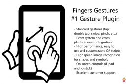 Fingers - Touch Gestures for Unity v2.9.3
