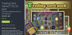 Trading Card Game(TCG) 2D pack 1.0 unity3d asset iOS开发