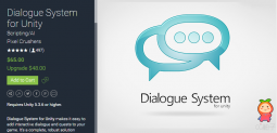 Dialogue System for Unity 2.1.2 统一的对话系统开发插件