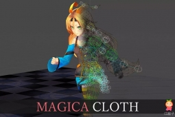 Magica Cloth 1.7.5 快速布料模拟器