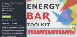 Energy Bar Toolkit 4.0.1 unity3d asset unity插件 Unity插件官网