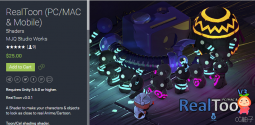 RealToon (PCMAC & Mobile) 2.0.0 unity3d asset Unitypackage插件 iOS开发