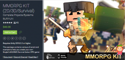 MMORPG KIT (2D3DSurvival) 1.45c