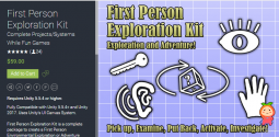 First Person Exploration Kit 2.0.2 unity3d asset Unity插件 iOS开发